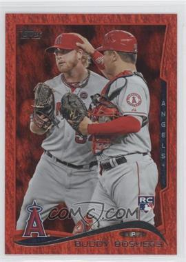 2014 Topps Red Hot Foil #34 - Buddy Boshers