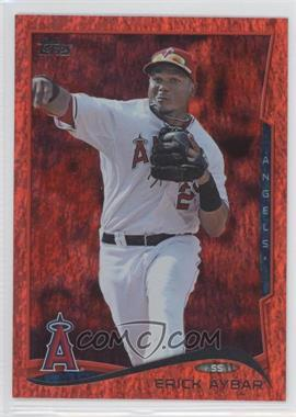 2014 Topps Red Hot Foil #369 - Erick Aybar