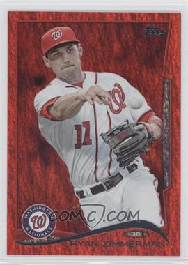 2014 Topps Red Hot Foil #378 - Ryan Zimmerman