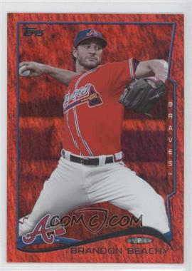 2014 Topps Red Hot Foil #454 - Brandon Beachy