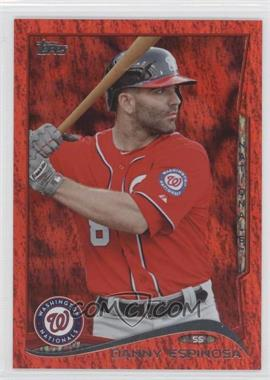 2014 Topps Red Hot Foil #455 - Danny Espinosa