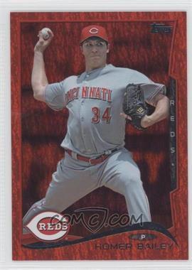 2014 Topps Red Hot Foil #505 - Homer Bailey