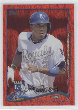 2014 Topps Red Hot Foil #514 - Alcides Escobar
