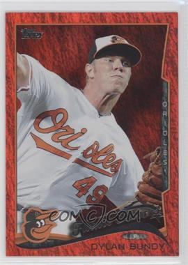 2014 Topps Red Hot Foil #531 - Dylan Bundy