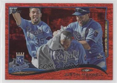 2014 Topps Red Hot Foil #594 - Justin Maxwell