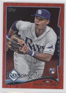 2014 Topps Red Hot Foil #605 - Tim Beckham