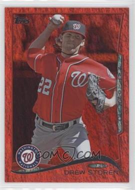 2014 Topps Red Hot Foil #615 - Drew Storen