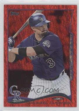 2014 Topps Red Hot Foil #638 - Michael Cuddyer