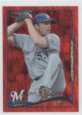 2014 Topps Red Hot Foil #642 - Brandon Kintzler