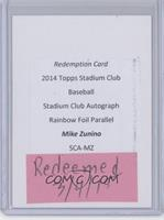 Mike Zunino /50 [REDEMPTION Being Redeemed]