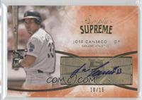 Jose Canseco /15