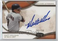 Matt Williams /299
