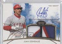 Juan Gonzalez /25