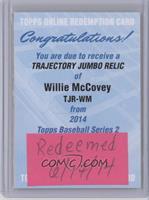 Willie McCovey [REDEMPTIONBeingRedeemed]