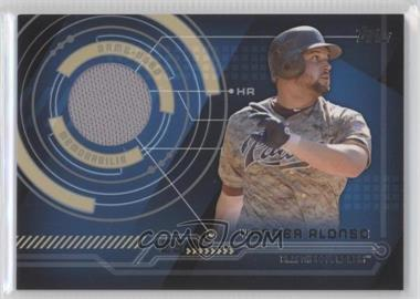 2014 Topps Trajectory Relics #TR-YA - Yonder Alonso (facing right)