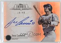 Jose Canseco /40
