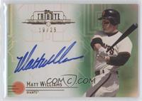 Matt Williams /25
