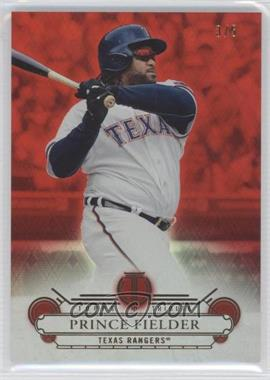 2014 Topps Tribute Red #20 - Prince Fielder /5