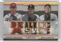 Stephen Strasburg, Chris Sale, Max Scherzer /9