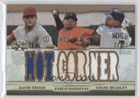 David Freese, Pablo Sandoval, Chase Headley /27