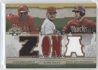 Didi Gregorious, Wade Miley, Paul Goldschmidt /27