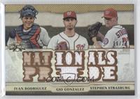 Ivan Rodriguez, Gio Gonzalez, Stephen Strasburg /27