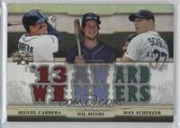 Miguel Cabrera, Max Scherzer, Wil Myers /36