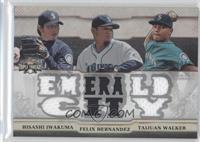 Hisashi Iwakuma, Felix Hernandez, Taijuan Walker /36