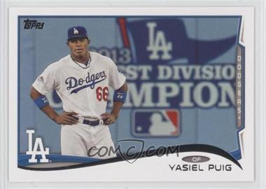 2014 Topps #331.3 - Yasiel Puig