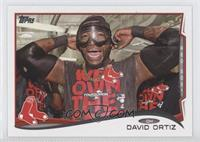 David Ortiz goggles over eyes
