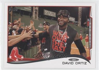 2014 Topps #475.3 - David Ortiz (Goggles on Head)
