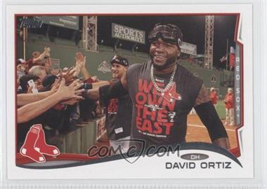 2014 Topps #475.3 - David Ortiz (Goggles on Head)
