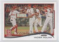 Yadier Molina (With Team)