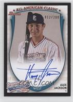Alex Jackson (2013 Perfect Game) /200