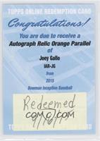 Joey Gallo [REDEMPTIONBeingRedeemed] #/25