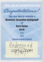 Byron Buxton [REDEMPTION Being Redeemed]