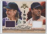 Randy Johnson, Pedro Martinez /99