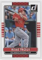 Mike Trout (Reverse Negative Error Variation)
