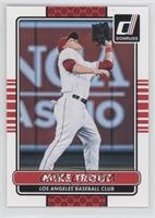 Mike Trout (Photo Variation: Fielding)