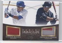 Addison Russell, Francisco Lindor /25