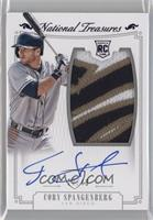 Rookie Material Signatures - Cory Spangenberg /49
