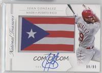 Juan Gonzalez /99