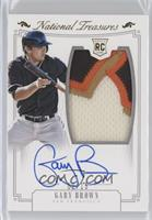 Rookie Material Signatures - Gary Brown /15