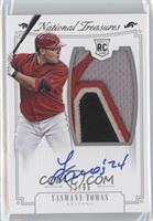 Rookie Material Signatures Silver - Yasmany Tomas /99