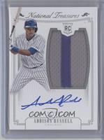 Rookie Material Signatures Silver - Addison Russell /99