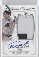 Rookie Material Signatures Silver - Cory Spangenberg /99