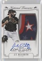 Rookie Material Signatures Silver - J.T. Realmuto /99