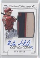 Rookie Material Signatures Silver - Nick Ahmed /99