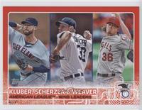 Corey Kluber, Max Scherzer, Jered Weaver /10