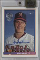 Jim Abbott (1991 Bowman) /45 [ENCASED]